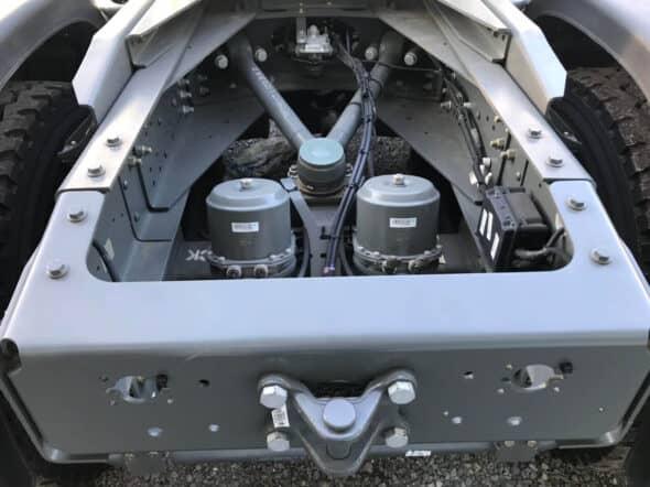 Chassic xe đầu kéo howo 380 rất dày và chắc chắn
