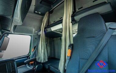 Nội thất cabin xe Howo A7